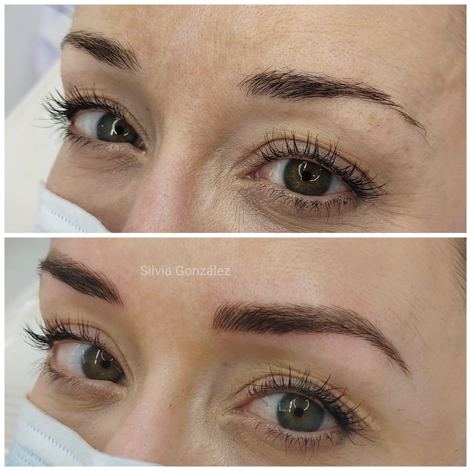 Micropigmentación para cejas