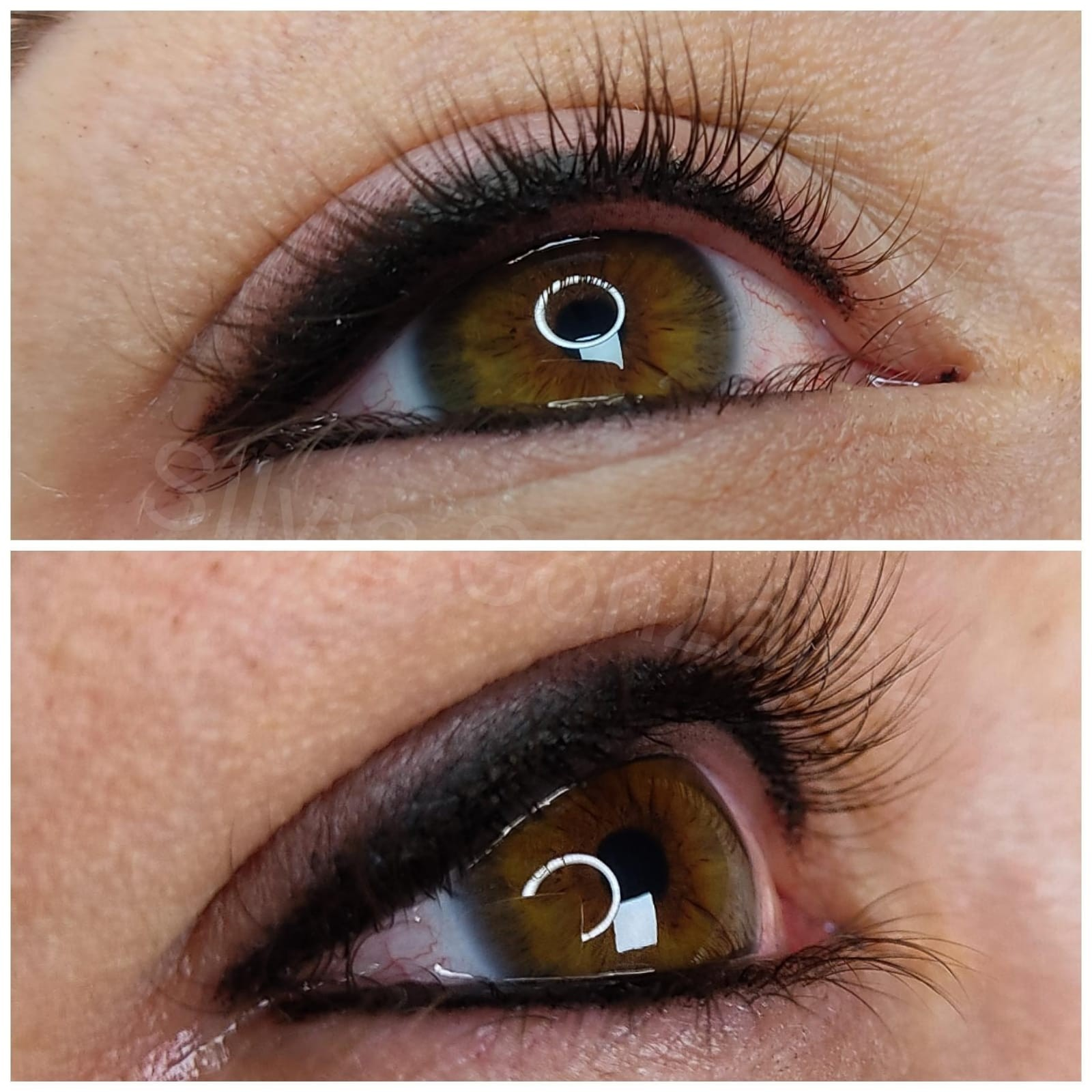 microblanding para pestañas y linea del ojo