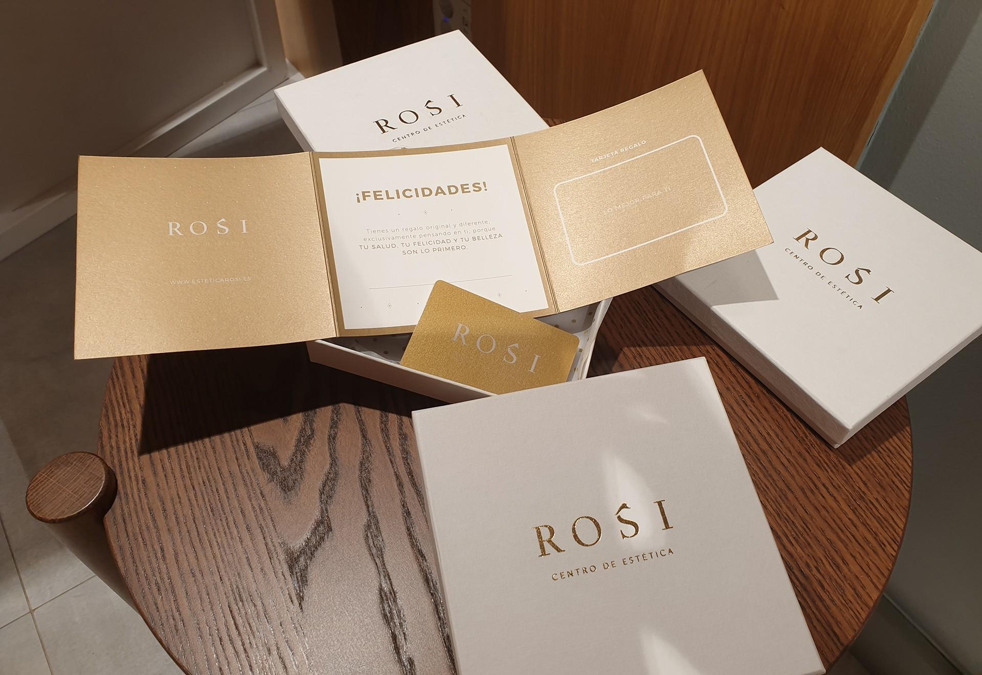tarjeta regalo spa estetica rosi
