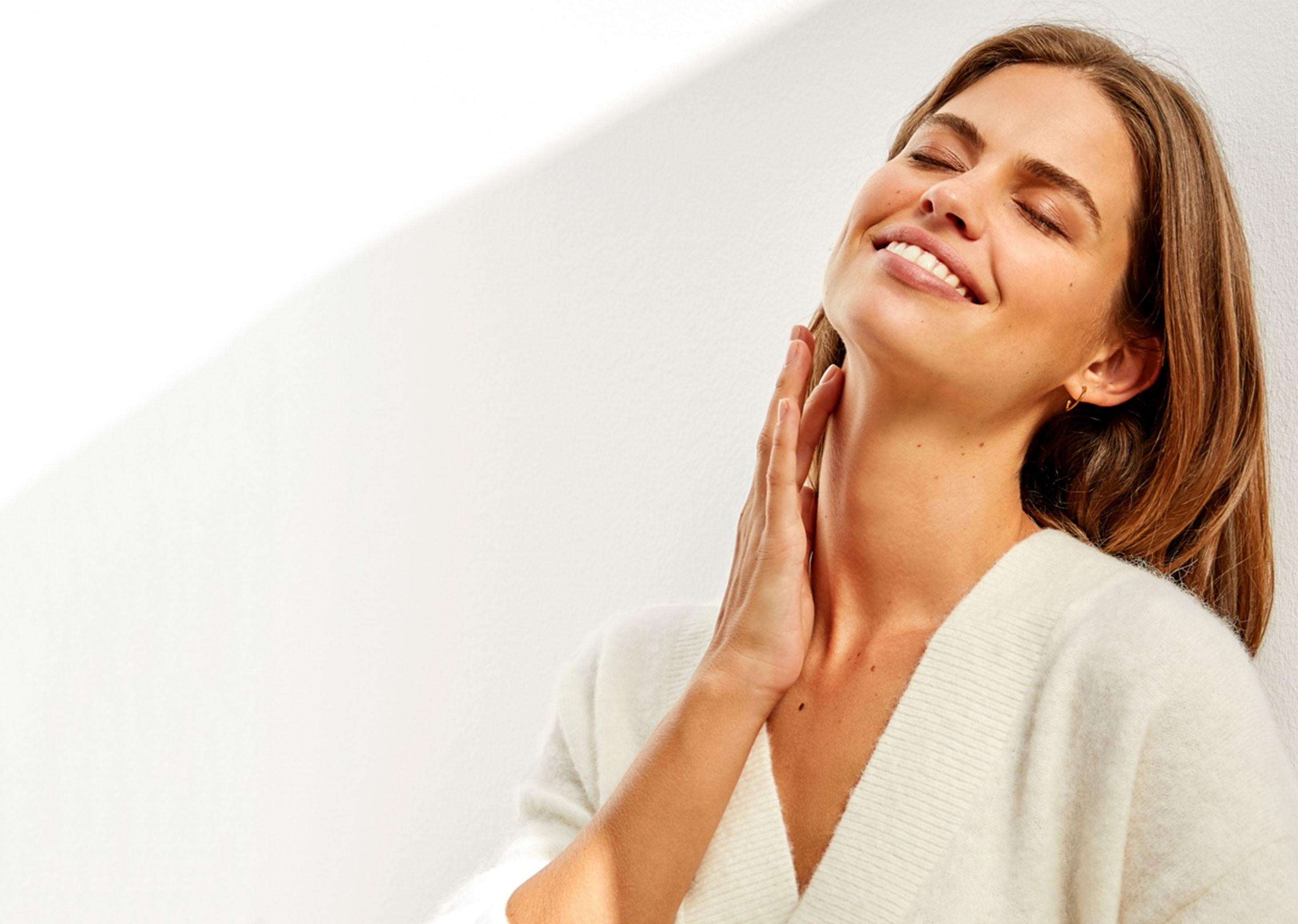 Tratamiento de cuello y escote