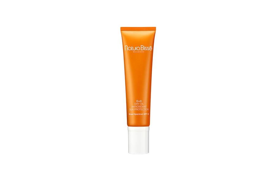 dry oil antioxidant sun protection natura bisse estetica rosi 216
