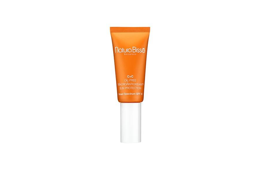 c oil free macroantioxidant sun protection spf 30 natura bisse estetica rosi