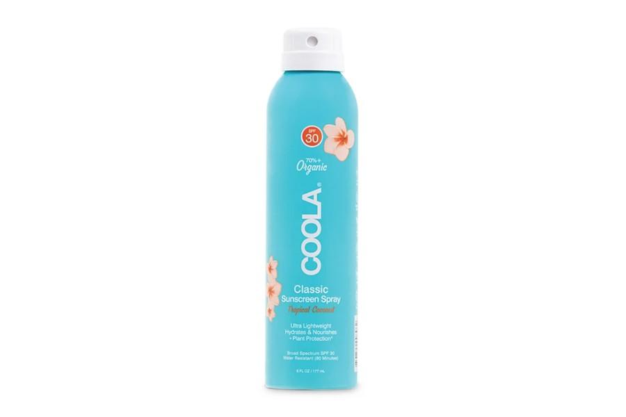 coola spray spf 30 coconut body estetica rosi