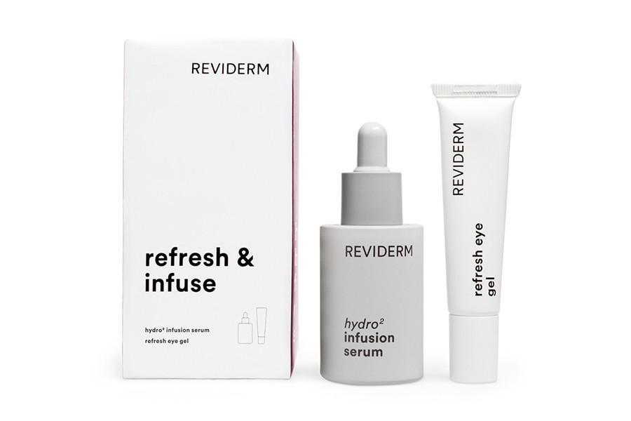 refresh infuse serum eye gel reviderm estetica rosi