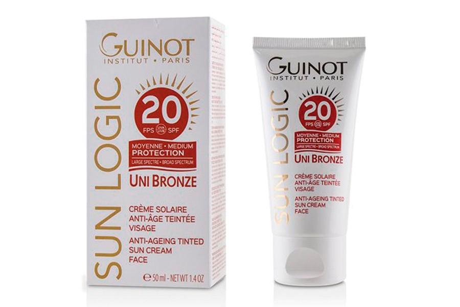 guinot crema solar antiedad sfp 20 unibronze estetica rosi