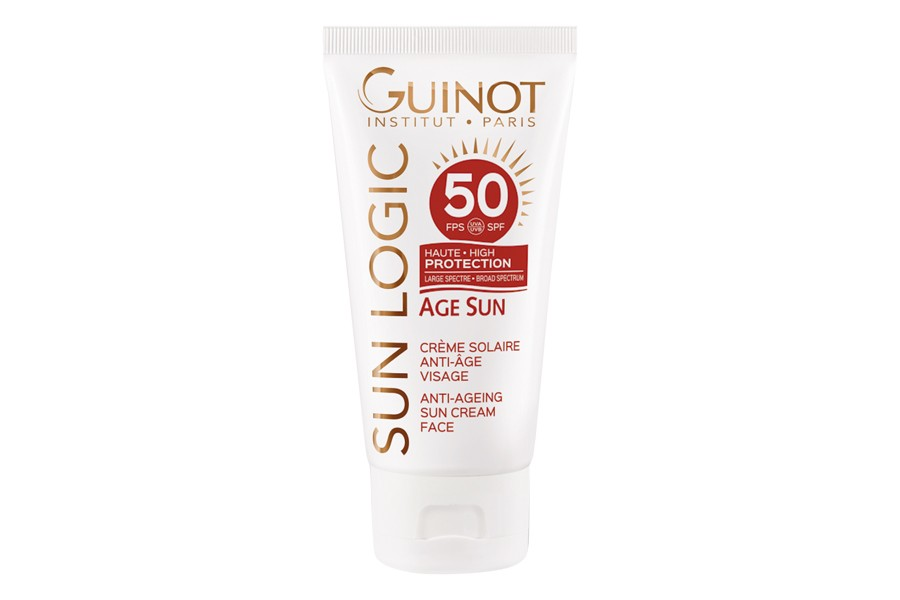 guinot crema solar age sun sfp50 estetica rosi